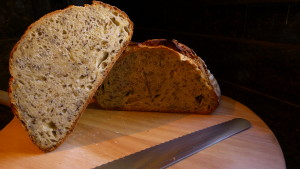 sourdough boule with flax and sunflower seeds2